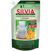 Засіб для посуду Silvia Антижир апельсин 500мл