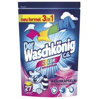 Засіб для прання Der Waschkonig Color капсули 27*24г/648г