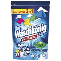 Засіб для прання Der Waschkonig Universal капсули 27*24г