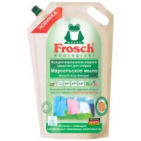 """Концентрований рідкий засіб для прання Frosch """"Марсельське мило"""", 2 л (дой-пак)"""