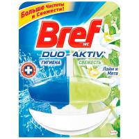 Засіб для унітазу Bref Duo-Activ Лимон 50л