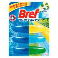 Засіб для унітазу Bref Duo-Aktiv Свіжий мікс 3*50мл