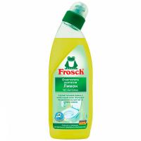"""Гель безфосфатний для чищення унітазів Frosch """"Лимон"""", 750 мл"""