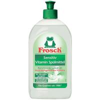 Бальзам-концентрат безфосфатний для миття посуду Frosch Sensitive, 500 мл