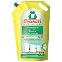 """Рідкий засіб для прання білих речей Frosch """"Лимон"""", 2 л"""
