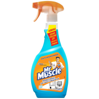 Спрей зі спиртом для скляних поверхонь Mr.Muscle, 500 мл