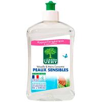 Органічний засіб для миття посуду L`Arbre Vert Чутлива шкіра, 500 мл