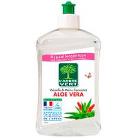 """Органічний засіб для миття посуду та рук L`Arbre Vert """"Алое Вера"""", 500 мл"""