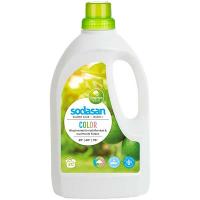 Органічний засіб для прання кольорових тканин Sodasan Color, 1,5 л