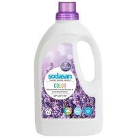 """Рідкий засіб для прання кольорових речей Sodasan Color """"Лаванда"""", 1.5 л"""