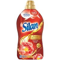"""Кондиціонер-ополіскувач безфосфатний для тканин Silan Aromatherapy """"Чуттєва троянда"""", 1,45 л"""