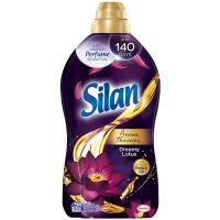 """Кондиціонер-ополіскувач безфосфатний для тканин Silan Aromatherapy """"Казковий лотос"""", 1,45 л"""