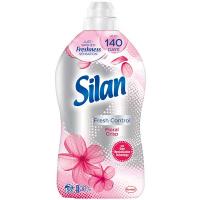 """Кондиціонер-ополіскувач безфосфатний для тканин Silan Fresh Control """"Свіжість квітів"""", 1,45 л"""