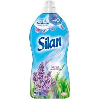 """Кондиціонер-ополіскувач безфосфатний для тканин Silan """"Весняна лаванда"""", 1,8 л"""