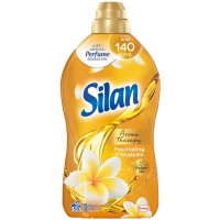 """Кондиціонер-ополіскувач безфосфатний для тканин Silan Aromatherapy """"Захоплюючий Франджипані"""", 1,45 л"""