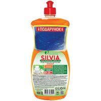 Засіб Silvia для посуду Апельсин 1000мл