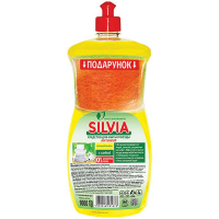 Засіб Silvia для посуду Соковитий лимон 1000мл