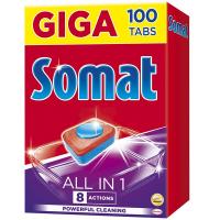 Засіб Somat All In 1 д/посудомийних машин 100таб./1800г
