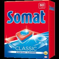 Засіб Somat для миття посуду у ПММ Classic 60таб.