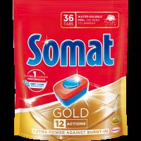 Засіб Somat для миття посуду у ПММ Gold 36таб.*19.2г