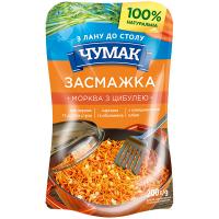 Засмажка Чумак морква з цибулею 200г
