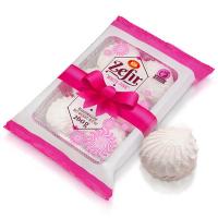Зефір ХКФ біло-рожевий 260г