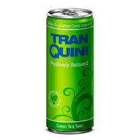 """Натуральний релакс-напій смак зеленого чаю, ТМ """"TranQuini"""",0,25л"""