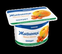 Йогурт Danone Живинка 1,5% абрикос-обліпиха 115г