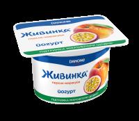 Йогурт Danone Живинка Персик-маракуйя 1,5% 115г