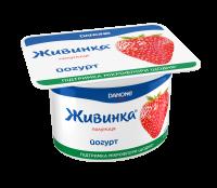 Йогурт Danone Живинка Полуниця 1,5% 115г