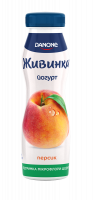 Йогурт Danone Живинка 1,5% персик 270г х9