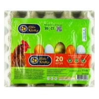 Яйця курячі Zlata Kladka С1 20шт.
