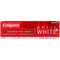 Зубна паста Colgate Optic White 75мл