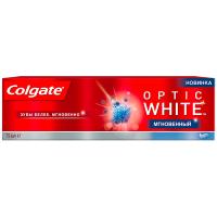 Зубна паста Colgate Optic White Миттєве Відбілювання, 75 мл