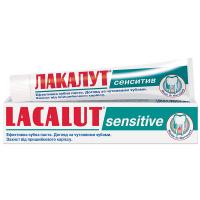 Зубна паста Lacalut Sensitive 75мл