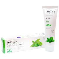 Зубна паста Melica organic екстракт м`яти 100мл