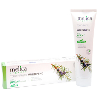 Зубна паста Melica organic відбілююча екстракт ялівцю 100мл