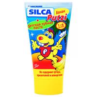 Зубна паста Silca Putzi банан 50мл