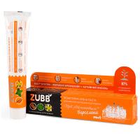 Зубна паста Zubb кориця-м`ята-ваніль 90г