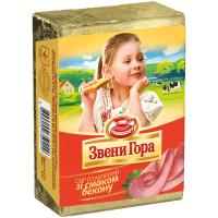 Сир Звени Гора плавлений зі смаком бекону 45% 90г